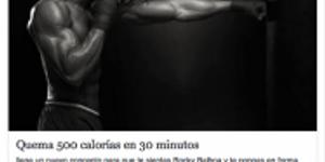 QUEMA 500 CALORÍAS EN 30 MINUTOS