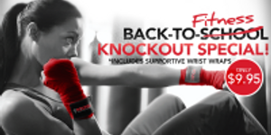 Back-to-Fitness Knockout Special! 1 week for $9.95