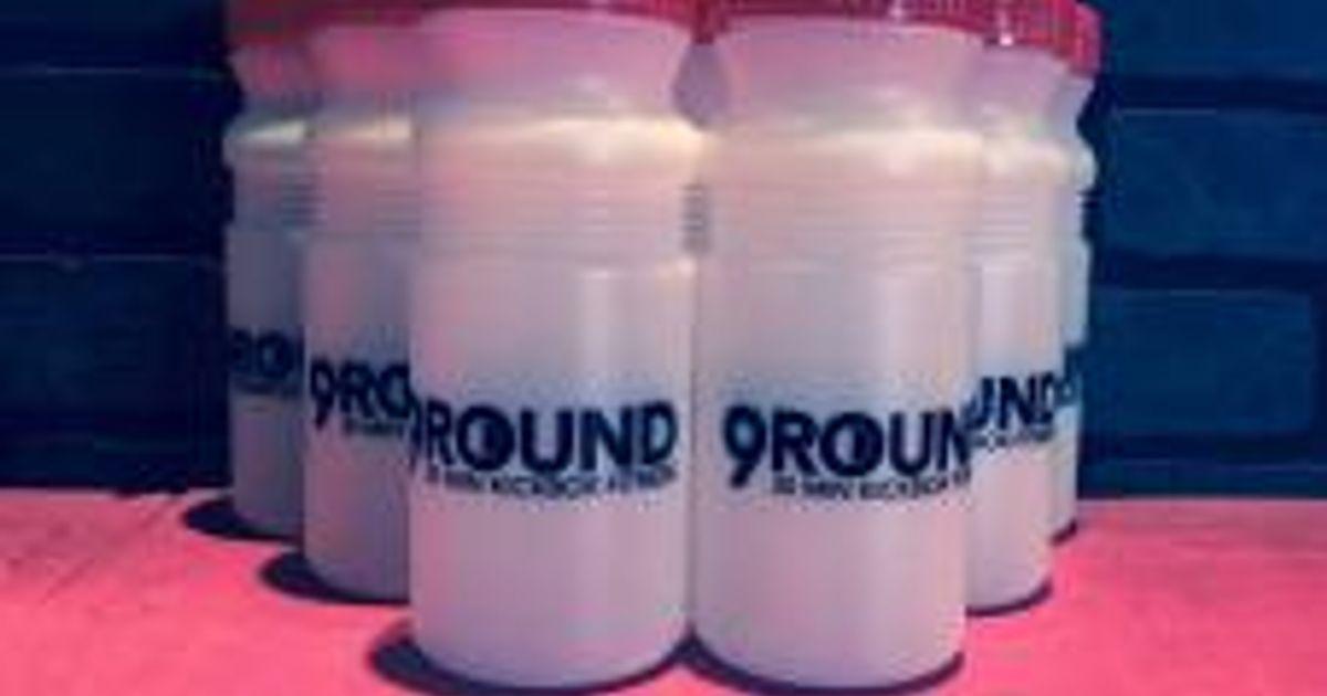 Get your 9round Water Bottle!