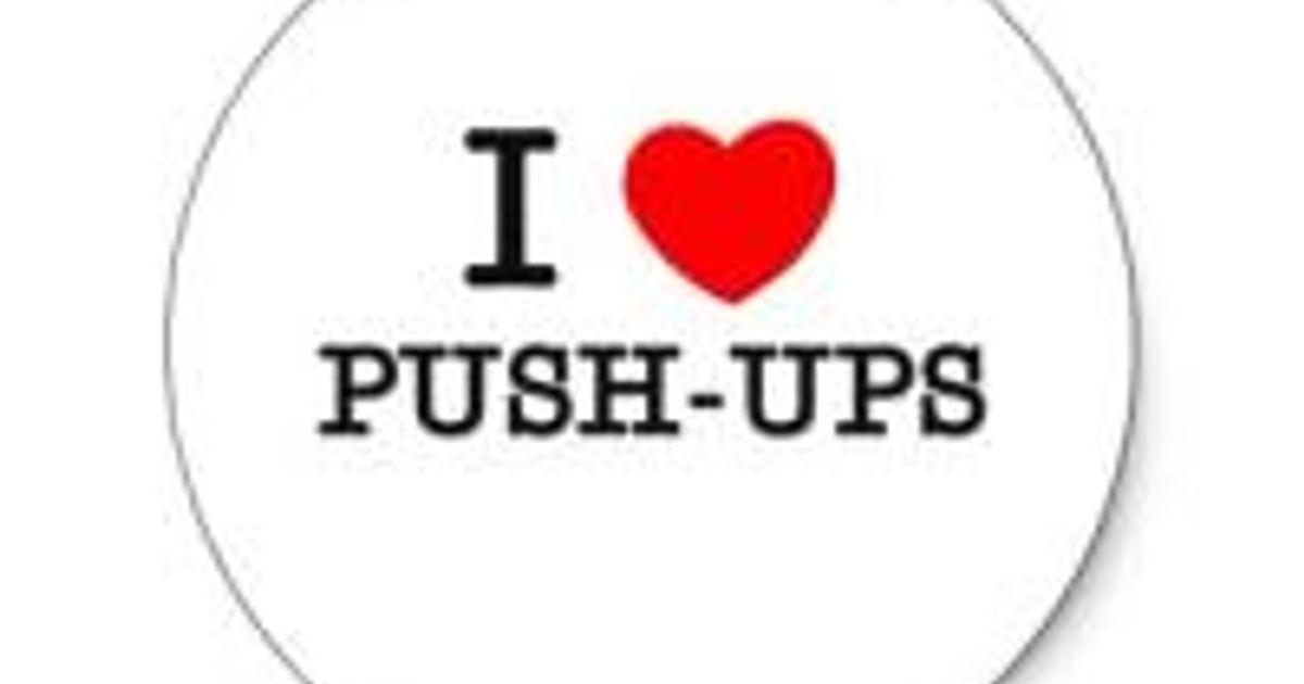 February Push-Up Challenge