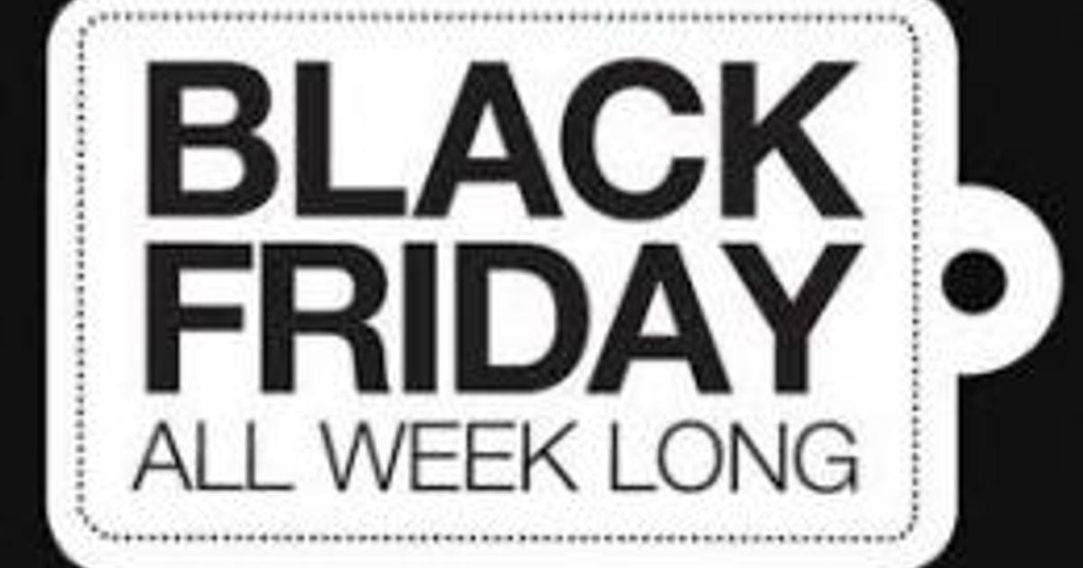 Black Friday WEEK!!!
