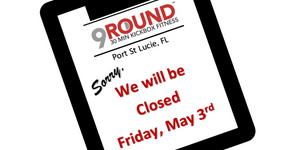 CLOSED FRIDAY MAY 3RD FOR CORPORATE TRAINING