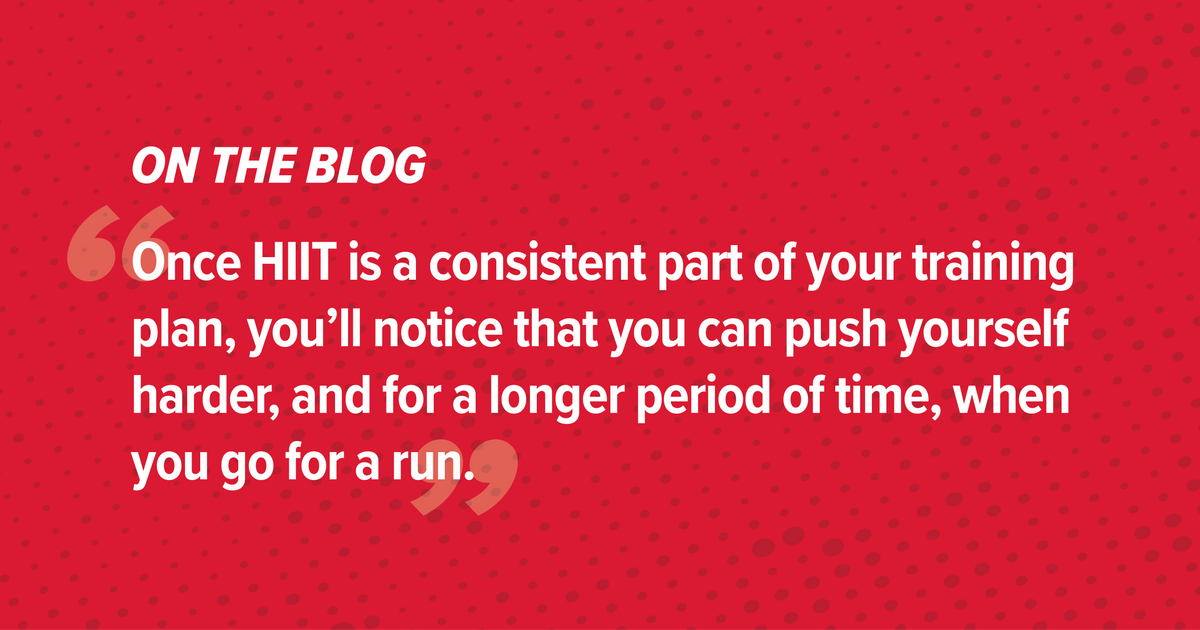 How HIIT Workouts Can Kick Your Race Training up a Notch