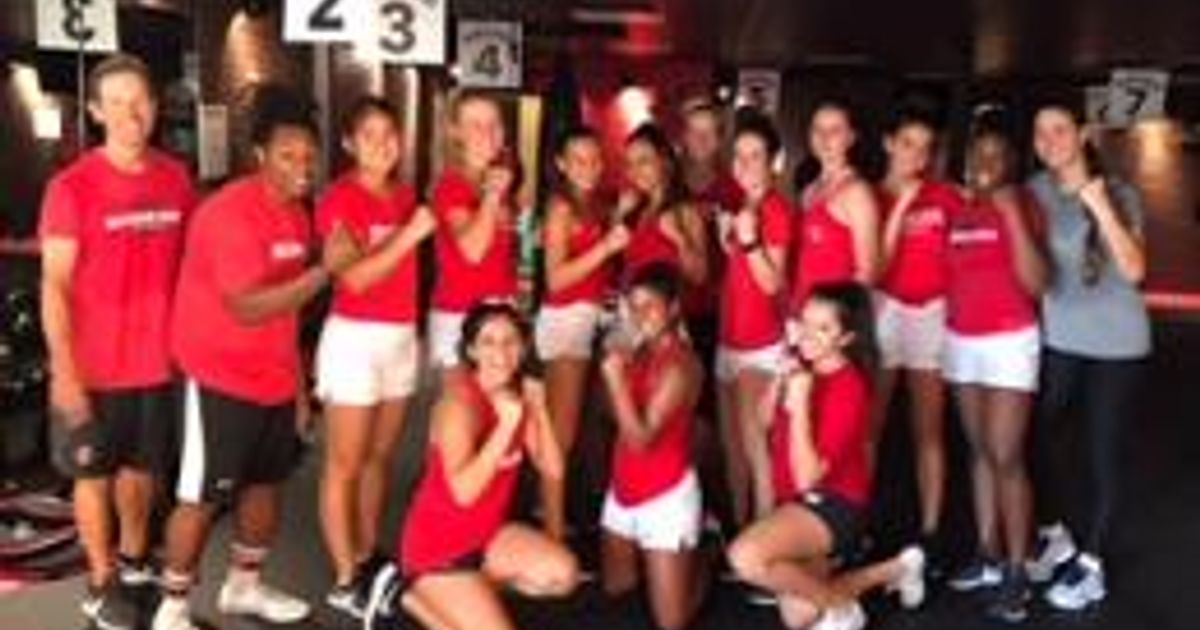 SDSU Tennis Team @ 9RoundSD