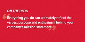 ¿Qué hay en una declaración de una misión?