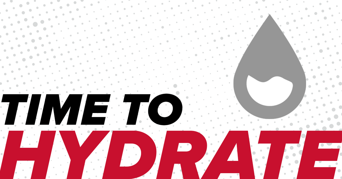 Chances Are, You're Dehydrated!
