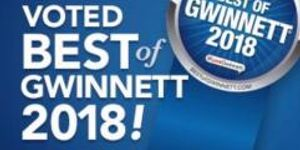 2018 Best of Gwinnett Winner!