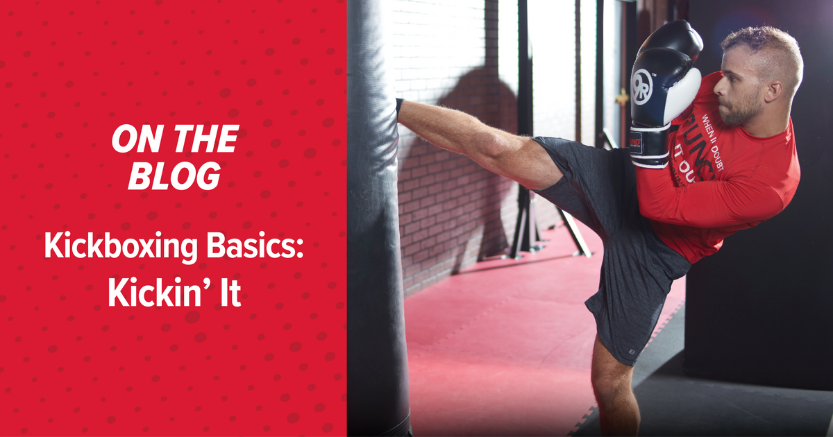 Kickboxing Basics : Kicking' It