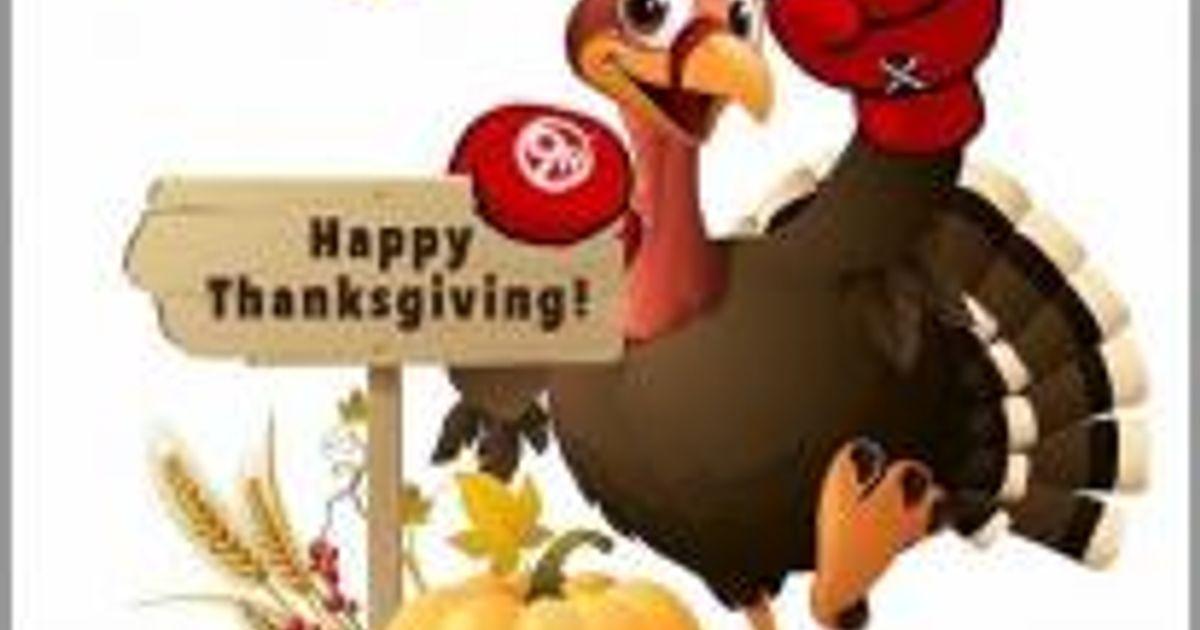 Thanksgiving Week Gym Hours
