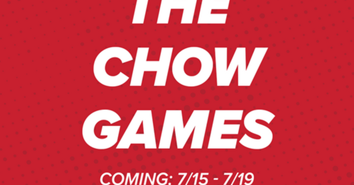2019 CHOW Games - Official Rules