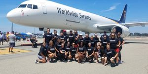 Special Olympics Plane Pull SUCCESS!