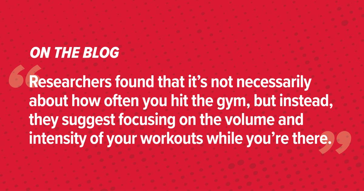Hacer ejercicio sobre calidad, no cantidad