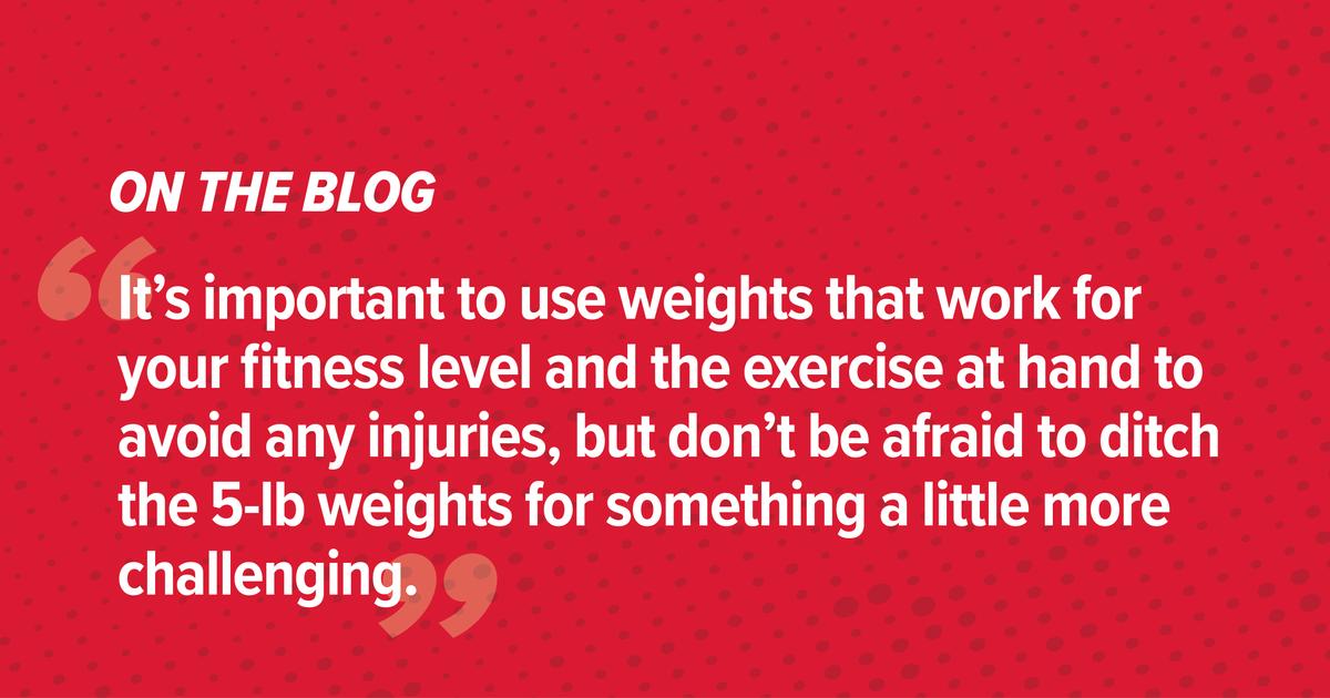 """Mitos sobre la buena forma física: """"Levantar pesas te hará crecer""""."""