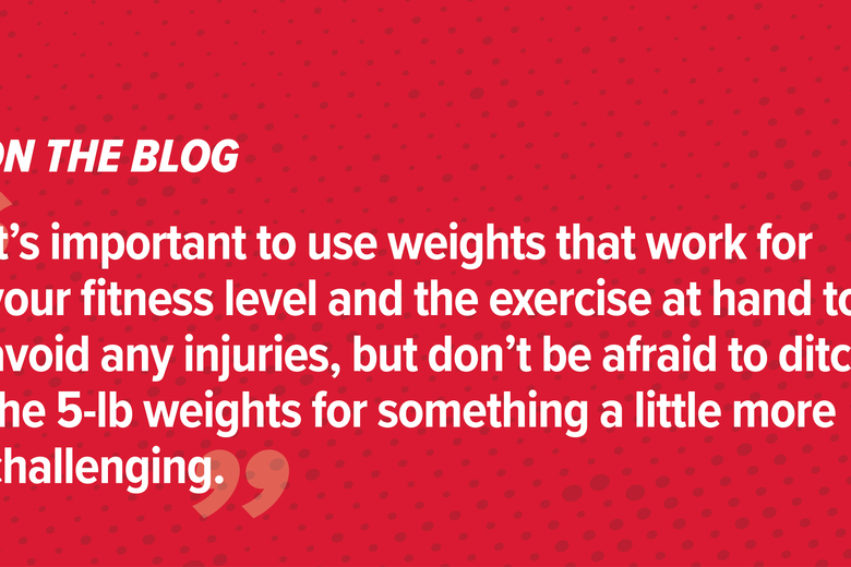 "Busting Fitness Myths: ""Lifting weights will make you bulk up."""