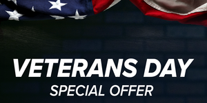 Veterans Day Special Offer