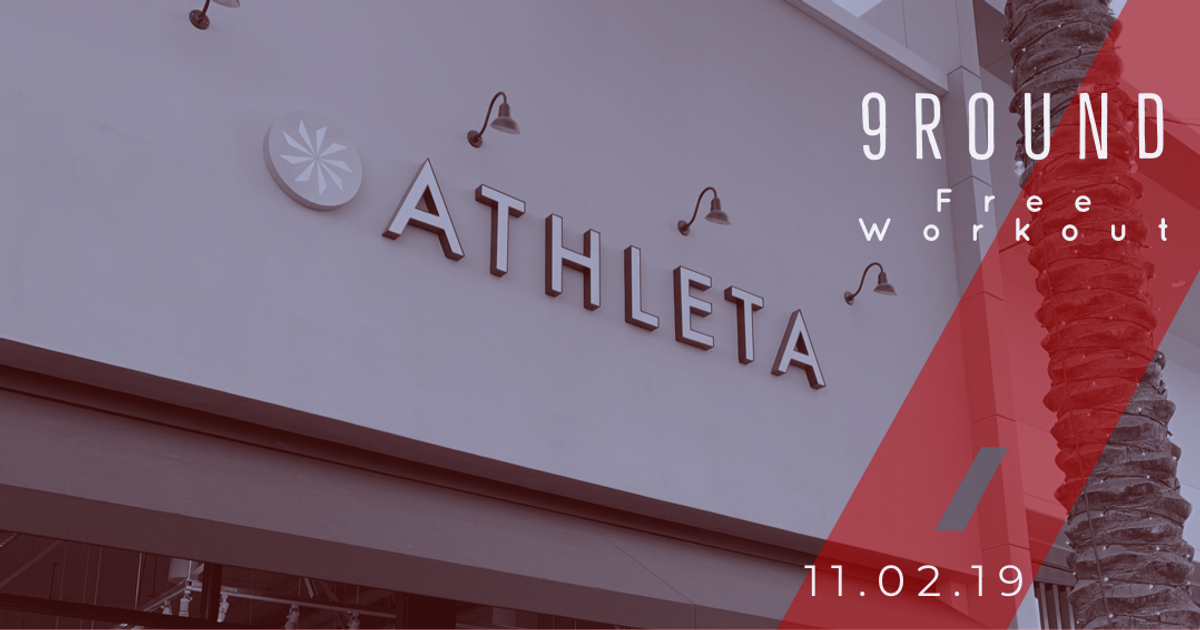 Free 9Round Workout at Athleta
