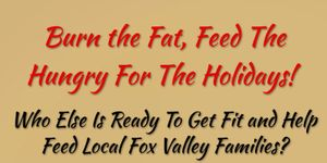 Burn the fat, Feed the hungry this holiday season