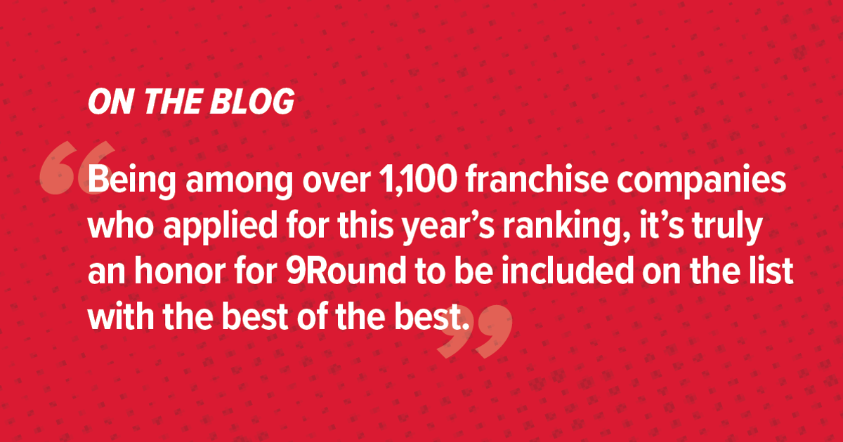 9Round Ranked in Entrepreneur's 41st Annual Franchise 500®