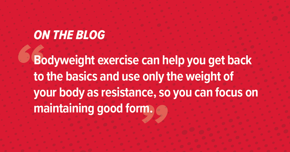 What You Should Know About Bodyweight Exercise