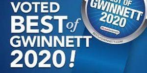 Voted Best of Gwinnett 2020!