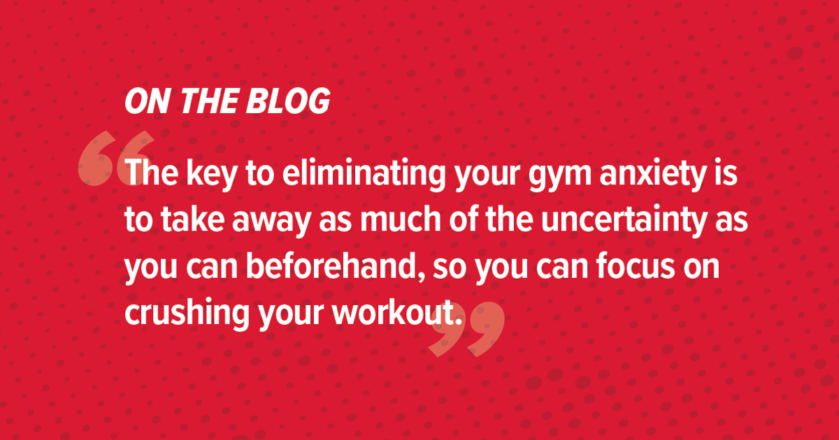 5 Tips for Conquering Gym Anxiety