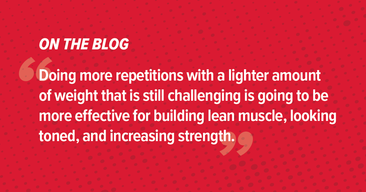 Tips for Toning Up and Building Lean Muscle