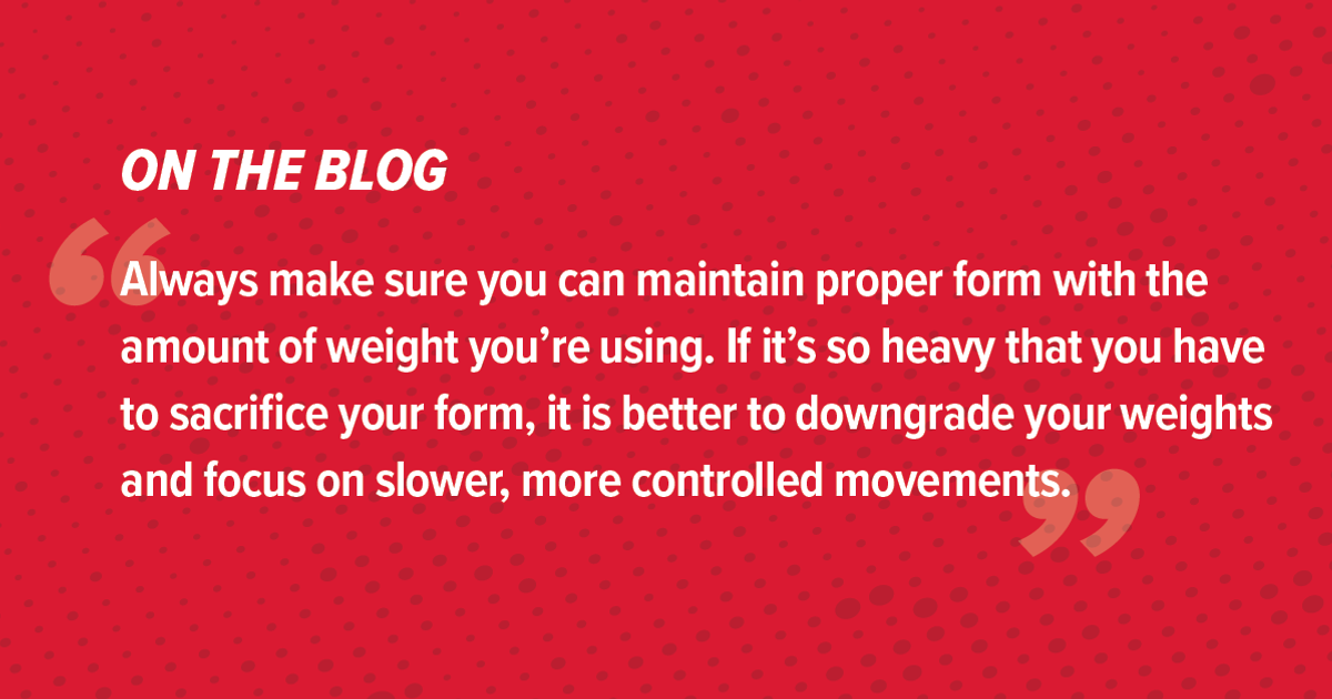 How to Avoid These Common Strength Training Mistakes