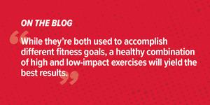 High-Impact vs. Low-Impact Exercises