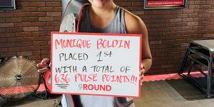 Monique Wins Pulse Challenge- Women's Division