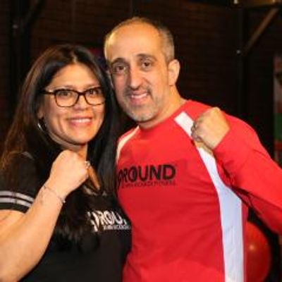 "Lui and Melissa Pisano""Mighty Mel"" and ""Left Hook"""