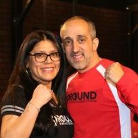 "Lui and Melissa <span class=""nick-name"">""&quot;Left Hook&quot; and &quot;Mighty Mel&quot;""</span> Pisano"