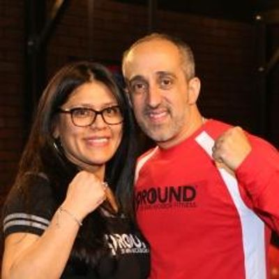 "Lui and Melissa Pisano""Left Hook"" and ""Mighty Mel"""